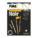 Bloc Paint'On papier Noir 250 g/m² 20 F - 21 x 29,7 cm (A4)