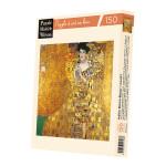 Puzzle en bois 150 pièces Klimt Portrait d'Adele Bloch-Bauer