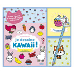 Coffret Je dessine Kawaii