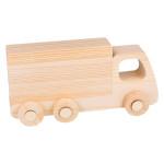 Camion en bois #2 18 x 9 x 5,5 cm