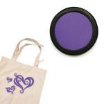 Izink textile - Tampon encreur - Violet grenache