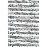 Feuille Décopatch - Partition de musique - 30 x 40 cm
