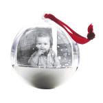 Boule à neige pour photo en plexi à décorer 8,5 cm