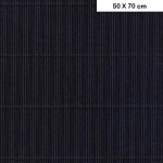 Carton ondulé mini - Noir - 50 x 70 cm