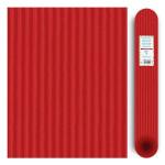 Carton ondulé média 300g - Rouge - 70 x 50 cm