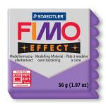 Pâte polymère Fimo Effect 56g - 604 - Lilas translucide