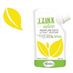 Peinture décorative Izink Nature 80 ml - Jaune citron