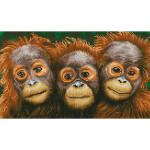 Broderie Diamant kit intermédiaire Trois singes
