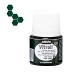 Peinture pour verre Vitrail 45 ml - 35 - Vert foncé