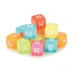Perles alphabet acidulé 6 mm x 300 pcs