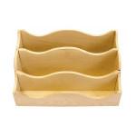 Range-courrier en bois - 25 x 13 x 15 cm