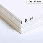 Carton mousse 10mm - 29,7 x 42 cm