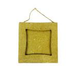 Cadre en papier mâché carré 8 cm
