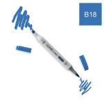 Marqueur à alcool double-pointe Ciao - B18 Lapis Lazuli