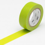 Masking tape uni vert clair
