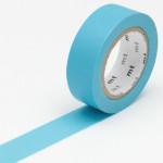 Masking tape uni bleu ciel