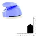 Géante perforatrice - Etiquette - Env 4.2 cm