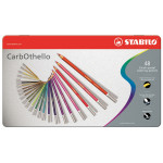 STABILO CARBOTHELLO COFFRET 48 +TAIL.CRAYON
