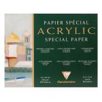 Bloc de papier pour peinture acrylique 360 g/m² - 24 x 30 cm