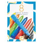Crayon pastel gel Classique 8 couleurs
