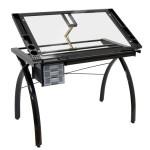 Table à dessin Futura noire