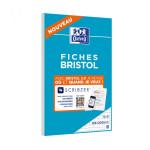 Fiche Bristol 2.0 Perforée 30 fiches 12,5 x 20 cm