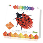 Origami 3D Creagami Coccinelle XS