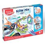 Coffret aérographie Blow Pen Art Mon univers oiseaux
