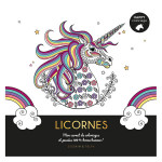 Carnet Happy coloriage Licornes