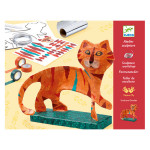 Atelier sculpture Le tigre
