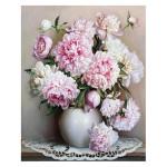 Peinture par numéros Vase De Pivoines