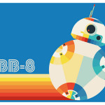 Broderie Diamant kit  intermediaire Star Wars BB8