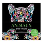 Bloc de coloriage Black Premium Animaux